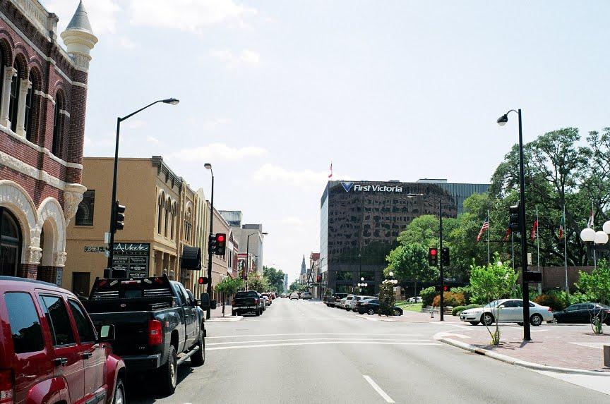 Main street, Victoria, TX