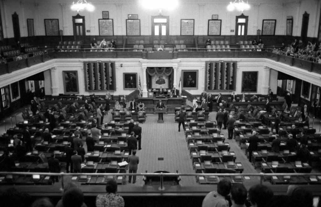 Texas House of Representatives in session