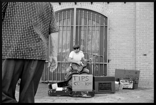 Blues music on 6th