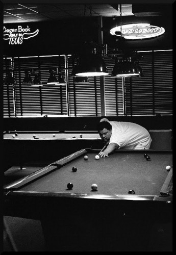 Austin pool tournament player